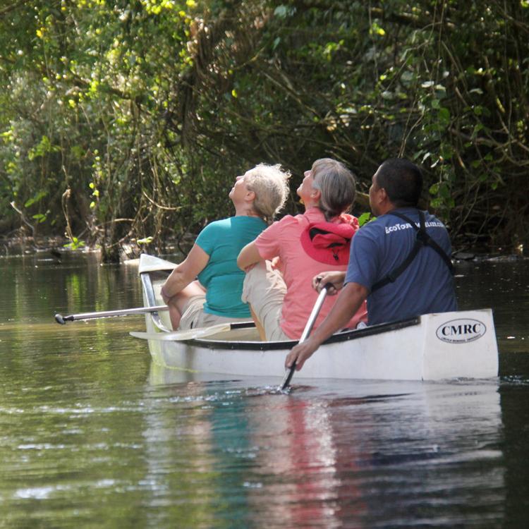 River patrol tour on Golden Stream River